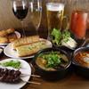 大衆酒場 PING - 料理写真:グリーンカレー♪モツ煮シチュー♪レバーペースト♪ポテトサラダ♪なんにでも合性バッチリのガーリックトースト