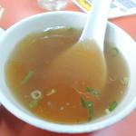 太白 - スープも付いてくるよ。^^