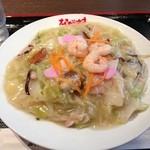 ながさき - 皿うどん(柔めん)800円