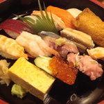 宇多美寿司 - 090804にぎり1.8