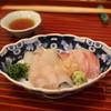 Ohara - 料理写真:刺身 (鯒 と 伊佐木 と 鱚) 大葉 と 茗荷 と 山葵