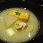 北新地 湯木 - 白味噌がほんのりで優しい☆