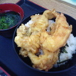 19469899 - 穴子天丼+海老天。