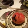 風雅 - 料理写真:ワインとともに焼きトマト