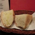 ルーナ・ピエーナ - 料理写真:自家製の美味しいパン。ディナー時は300円。