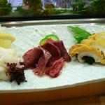あさひ鮨 - 気仙沼トリオ