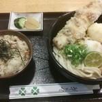 19480521 - ちく玉天ぶっかけ(冷)定食