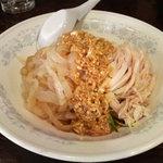 新華苑 - 料理写真:棒棒鶏麺。
