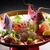 Hamachiyokan - 料理写真:鮑と伊勢海老