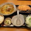 かつアンドかつ - 料理写真:かつカレーうどん1280円