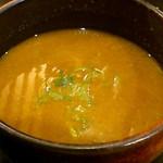 北新地 朱月 - カレーつけ麺 つけ汁