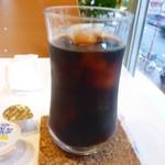 フルーツパーラーフクナガ - アイスコーヒー450円