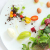 なかがわ - 料理写真:季節野菜のサラダ