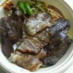 BONZO - 料理写真:牛焼肉ミックス弁当1,000円(ランチ900円)2013/06