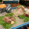 古屋旅館 - 料理写真:お造り 鯵 アオリイカ 雲丹