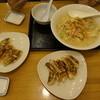 リンガーハット - 料理写真:ちゃんぽん麺2倍と餃子20個。これで二人の夕食です。