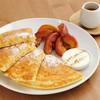 cafe RODI - 料理写真:焼きリンゴのパンケーキ