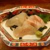 花せん - 料理写真:こぶじめ盛り合わせ(マダイ・コチ・マダカ)