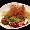 本気炭火焼 うつけ - 料理写真:バリバリじゃが芋とサクサク山芋のサラダ ♪  見つけるのが困難な程の隠れ家店なのにいつも繁盛してるなぁ(^^