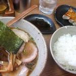 中華そば 匠 - チャーシュー麺定食