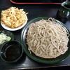 申子庵 - 料理写真:かき揚げそば(大盛り950円)