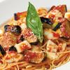 ガルロネロ - 料理写真:モッツァレラと揚げ茄子のトマトソース