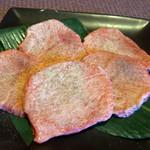 焼肉の牛若丸 - 料理写真:上塩タン
