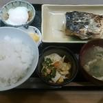 とみ多 - 焼魚定食(鰆)900円♪