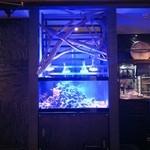 雨後晴 - 店内入口の水槽