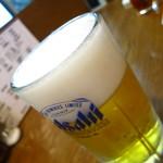とん吉 - 生ビール中550円
