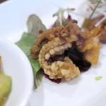 中国酒家 大三元 - 前菜(ぜんさい)、炸章魚(あげたこ)