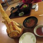 活魚料理 魚榮 - スーパー天丼 2625円