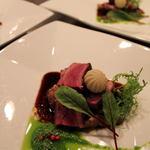 レストラン CAPTAIN - 山口宇部牛(黒毛和牛)のポアレ