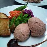 レストラン CAPTAIN - 長州ハーブ鶏のレバームース