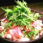 らくだのこぶ - 総州三元豚の蒸し野菜鍋 自家製ポン酢で 880円