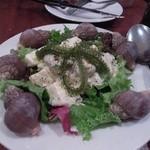 SOT L'Y LAISSE - ツブ貝と海ぶどうとジャガイモのサラダ