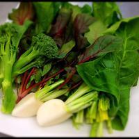 単なるお肉の脇役ではなく、主役級のお野菜をご堪能下さい。
