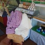 シレトコ - 料理写真:2013.6.7 北海道ミルクとカシスオレンジのW