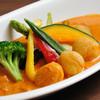 ジアス ルーク&タリー - 料理写真:大人気の帆立貝柱のスープカレー!ぷりぷりの帆立と道産野菜が、ぎっしりと!