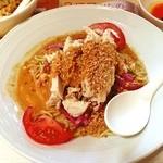 バーミヤン - 料理写真:こだわり棒棒鶏の冷し麺