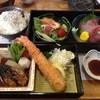 旬魚 旬彩 ふく丸 - 料理写真:二段重ランチ。でっかいえんびふりゃあが素敵♪