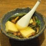 塩梅 - 定食の揚げ出し豆腐