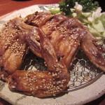 鳥良 - 手羽先唐揚(1人前/\480-)