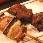 侍 - ねぎまと豚レバー