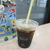 マクドナルド - ドリンク写真:アイス珈琲(S)100円