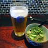 もみじ - 料理写真:ビールとお通し