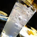亀勢 - ハイサワー350円