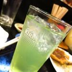 亀勢 - リンゴサワー350円