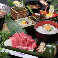 極上しゃぶしゃぶ淡路島牛丼の定食