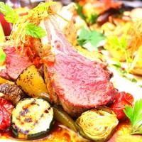 ◆肉BISTRO◆500℃の石窯で焼きあげるロースト料理